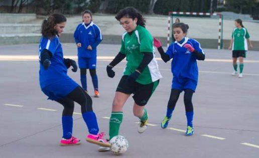 El fútbol sala femenino protagonista de la jornada