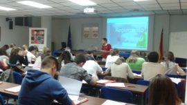 Voley: 65 aspirantes en el curso de formación de árbitros de ECM