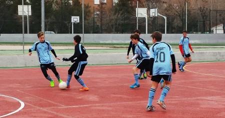 Futsal: Los cadetes de Maccabi España y Mater Immaculata B, en la final.