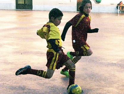 Futsal: Santa María del Carmen, líder prebenjamín