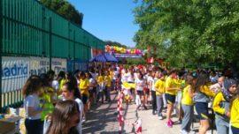 1500 escolares en la XVI edición de la Carrera Escolar San Eulogio