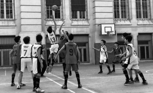 Dos equipos femeninos de Calasancio en la final infantil