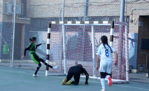 Las mejores imágenes del partido de fútsal entre Padre Piquer y Vedruna Escuelas Inter