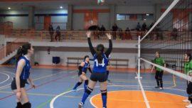 Las mejores imágenes del partido de voleibol juvenil femenino entre Santo Domingo Savio y Ntra. Sra. Consolación