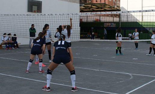 Fases finales de infarto en voleibol infantil, cadete, juvenil y sénior