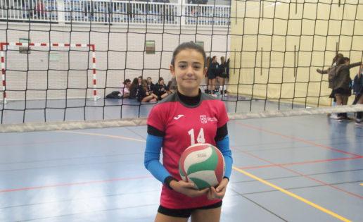 """""""Del voleibol lo que más me gusta es el trabajo en equipo"""""""