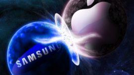 Apple y Samsung lanzan dos anuncios brillantes
