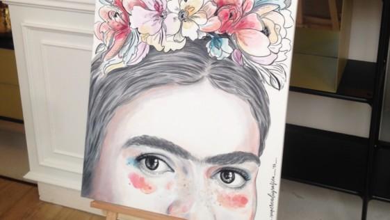 Platillos con el color de Frida Kahlo