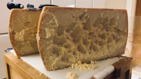 Así es el verdadero Parmigiano Reggiano