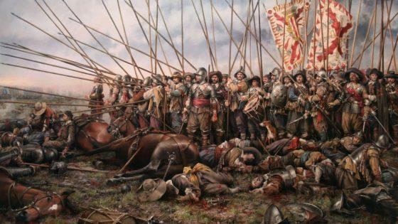 ¿Cuál era el porcentaje de españoles en los Tercios de Flandes?