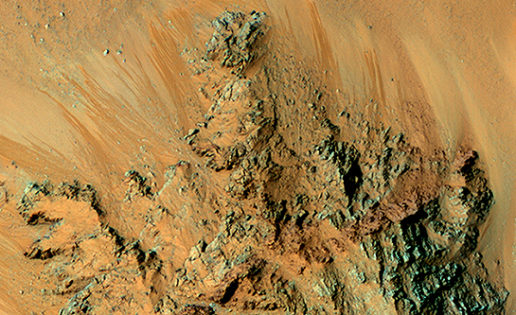 «El agua líquida fluye hoy por la superficie de Marte»