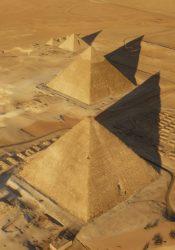 Las tres pirámides de Guiza: Khufu, Kefrén y Micerino (HIP Institute)