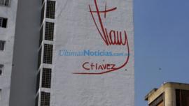 La firma fantasmal de Chávez