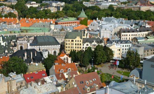Riga a vista de pájaro