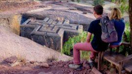 Los extraordinarios templos de Lalibela excavados en roca viva