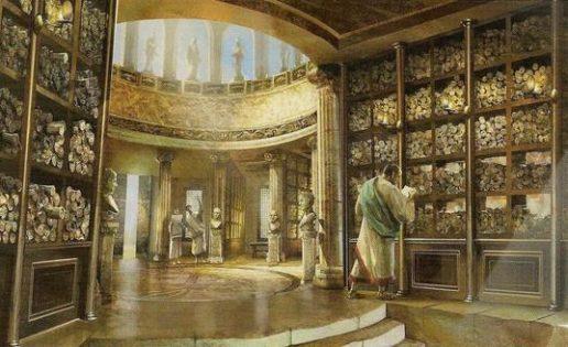 La mítica Biblioteca de Alejandría