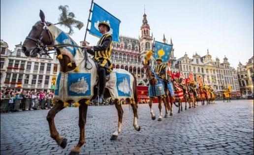 ¿Pero qué diablos es el Ommegang de Bruselas?