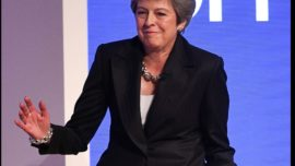 El día que me encontré a Theresa May
