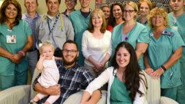 Madre despierta del coma al escuchar llorar a su bebé recién nacido