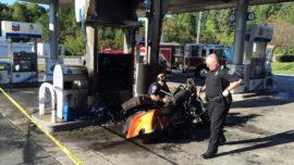¿Por qué debes apagar el motor en la gasolinera?