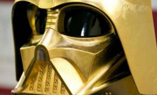 Venden casco de oro de Darth Vader por 1,3 millones de euros
