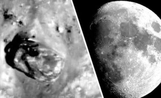 ¿Un tanque es visto en la Luna?