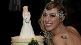 Una mujer se casa consigo misma en Italia