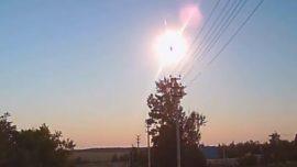 Un extraño destello iluminó el cielo de Rusia