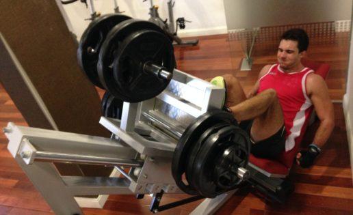 Rutina de potencia de pierna (nivel extremo)