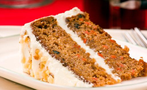 Receta FIT: tarta de zanahoria