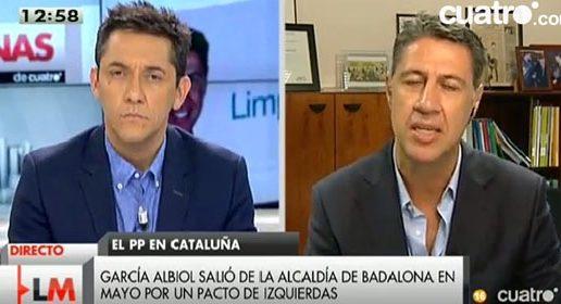 ¿Es García Albiol xenófobo?