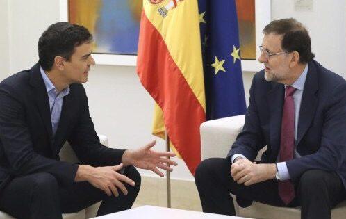 El PSOE quiere premiar a los golpistas