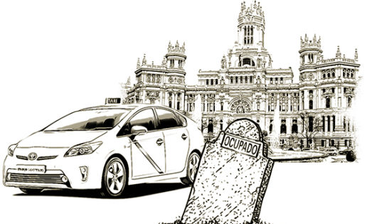 A vueltas con el taxi
