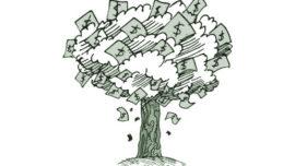 El dinero de los árboles