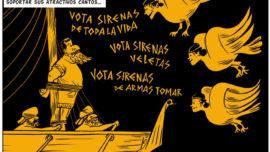 Ulises y el canto de las sirenas