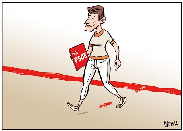 Línea roja