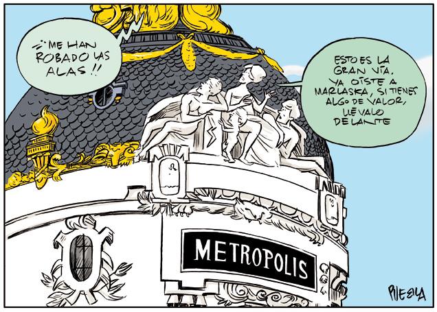 """""""Cuando voy por la Gran Vía me cambio de sitio la cartera"""" Ministro del Interior de España"""
