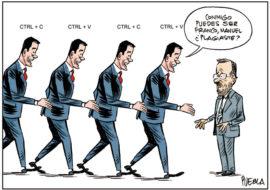 Del plagio de Sánchez al del presidente del Senado Manuel Cruz
