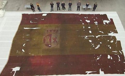 Banderas que sobrevivieron a Trafalgar
