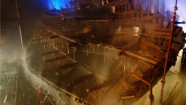 El Museo del Mary Rose, listo para zarpar