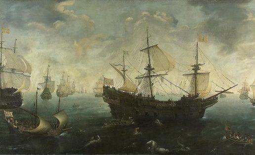 """Los naufragios de la """"Armada Invencible"""" (I)"""