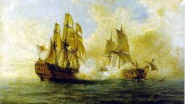 La épica travesía del navío «Glorioso»