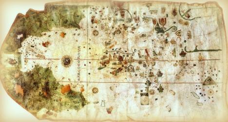 Mapa de Juan de la Cosa, 1500
