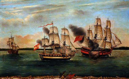 """Cazando corsarios en """"La Mar del Sur"""""""