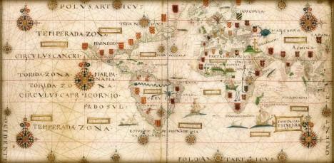 Planisferio de Teixeira, 1573