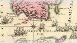 Rooke, saquea un manantial antes de tomar Gibraltar.