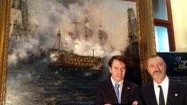 «El último combate del Glorioso», el cuadro más difícil de mi amigo Ferrer-Dalmau