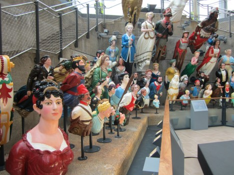Cutty Sark figureheads