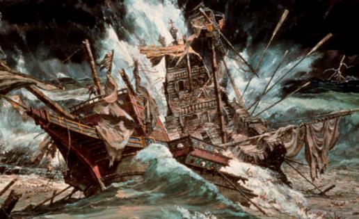 El náufrago de la Gran Armada ya tiene su epopeya