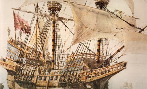 Los primeros españoles fueron confundidos con guerreros polinesios del Pacífico